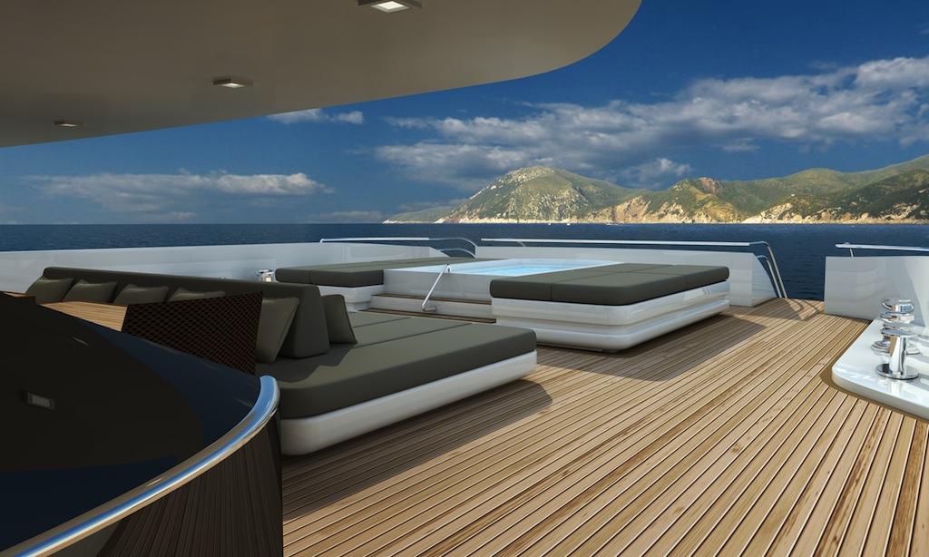 Delightful Exterior Of The DP009 Yacht Project Built By Oceanco To A Luiz De Basto  Design