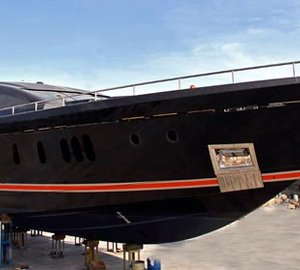 40m motor yacht O'PATI launched by Golden Yachts