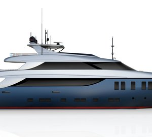 Motor yacht Ouranos – A 45m Nadara superyacht by Tecnomar in build