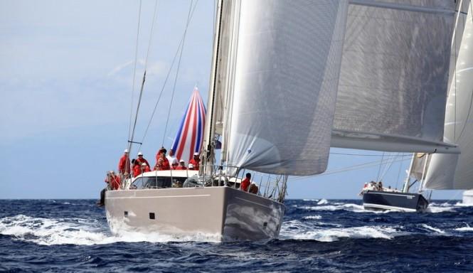 SW 100 DS yacht Acaia Four The 2011 Loro Piana Superyacht Regatta