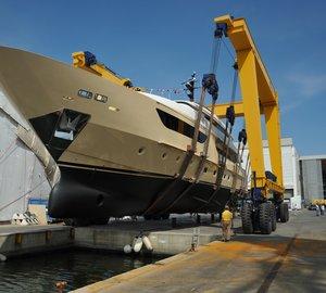 Sanlorenzo launch 38m motor yacht Santa Anna