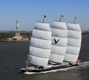 Transatlantic Race 2011: Perini Navi Sailing Yacht Maltese Falcon largest in fleet