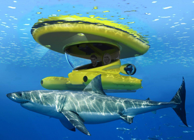 sub-surface MSV underwater explorer