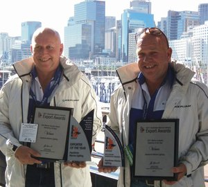 Aqualuma wins big a Sydney International Boat Show 2011