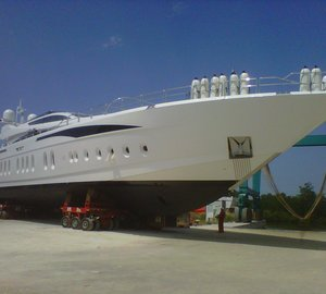 Motor Yacht 'Tutto le Marrane' launched by Leopard Yachts