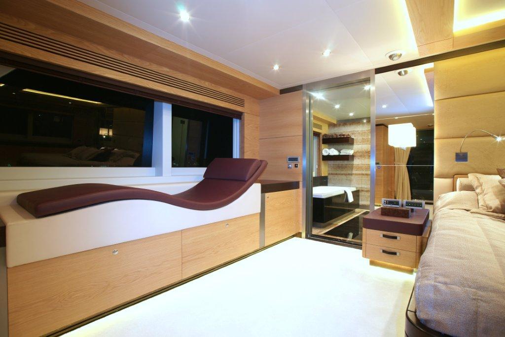 Master suite - motor yacht Tatiana