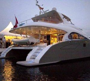 Mediterranean Premiere in Spain for Charter yacht DAMRAK II - a 70 Sunreef Power Catamaran