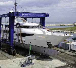 ISA Yachts launch the 2nd 50m motor yacht PAPI DU PAPI