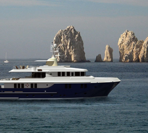 33m Expedition Yacht launched by MS Yachts in Russia