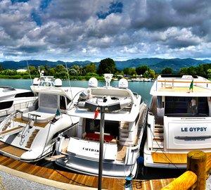 Sanlorenzo installs new Marina travel lift for superyachts