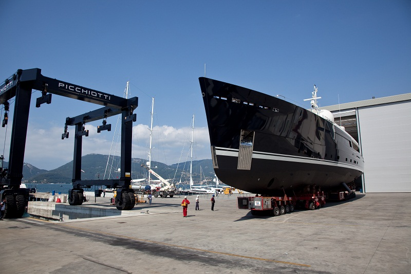 The Picchiotti Vitruvius 55 yacht Galileo G by Picchiotti – Photo Credit Giuliano Sargentini