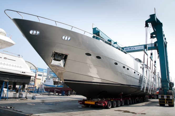 WOSA Yacht Refit Management launches motor yacht Mistral 55 after refit