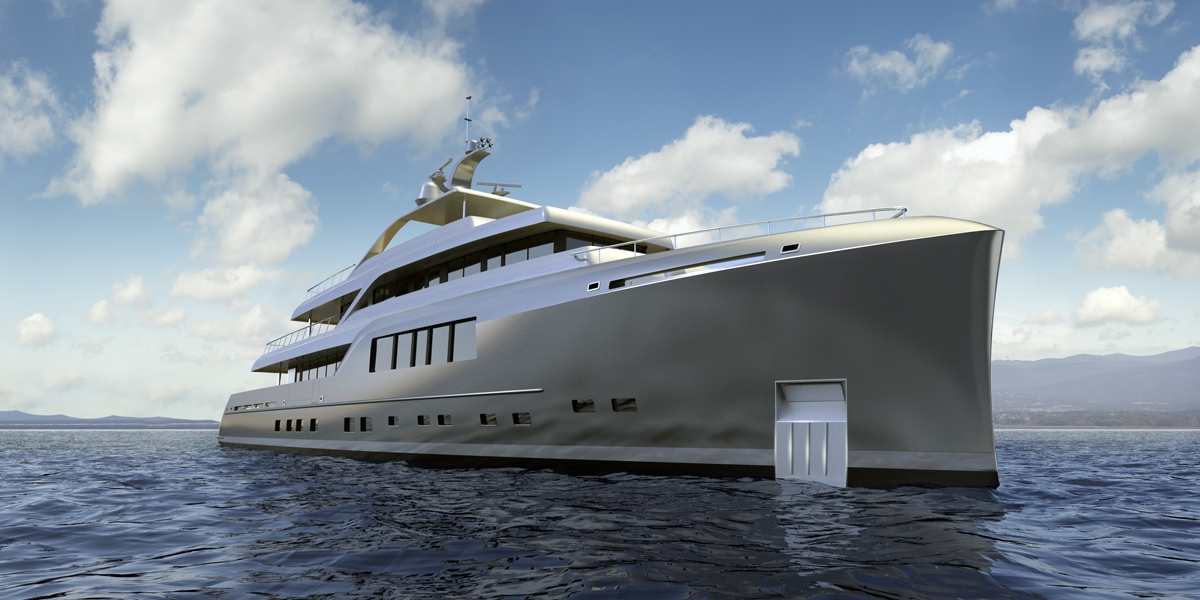 46m Neo Classic long-range motor yacht by MCC yachts at