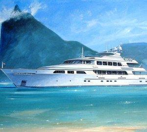 Trinity Yachts launches 49.90m motor yacht Falcon ex T060