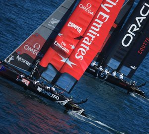 Americas Cup World Series in Cascais: Emirates Team New Zealand double winners