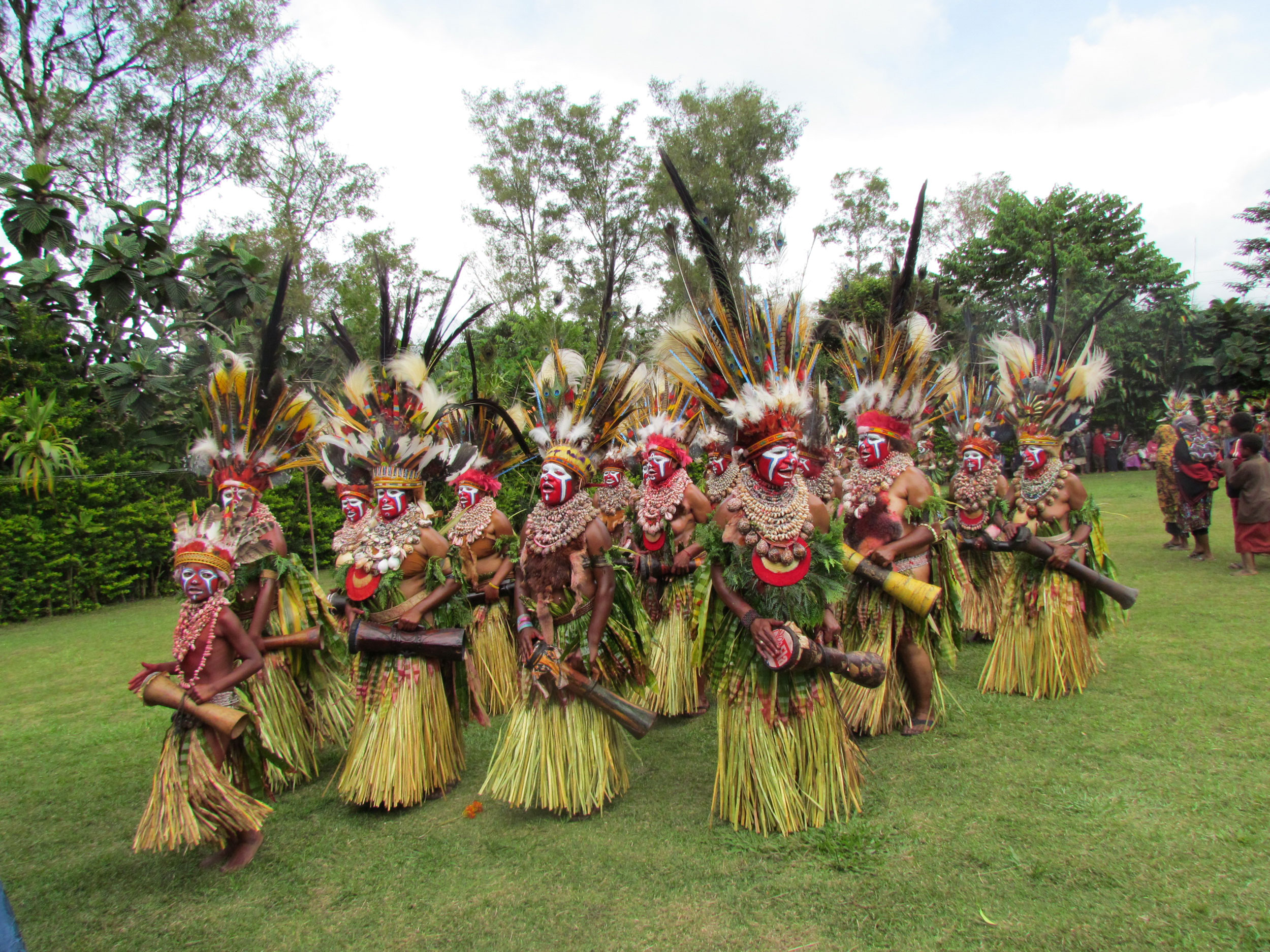 Dancers-mthagen in the beautiful and remote luxury yacht charter destination Papua New Guinea