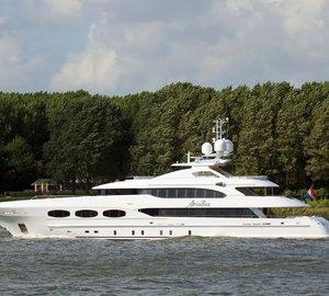 Heesen delivers 47m motor yacht Ariadna