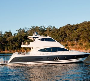 New Ocean Yachts introduce their new 68 Enclosed Flybridge yacht