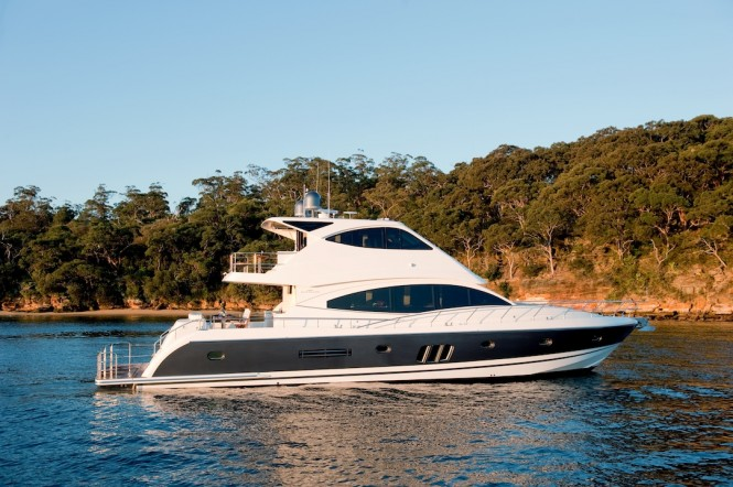 New Ocean Yachts 68 Enclosed Flybridge - Commanding on-water presence