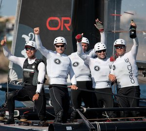 ORACLE Racing Spithill wins Match Race championship Cascais, Portugal