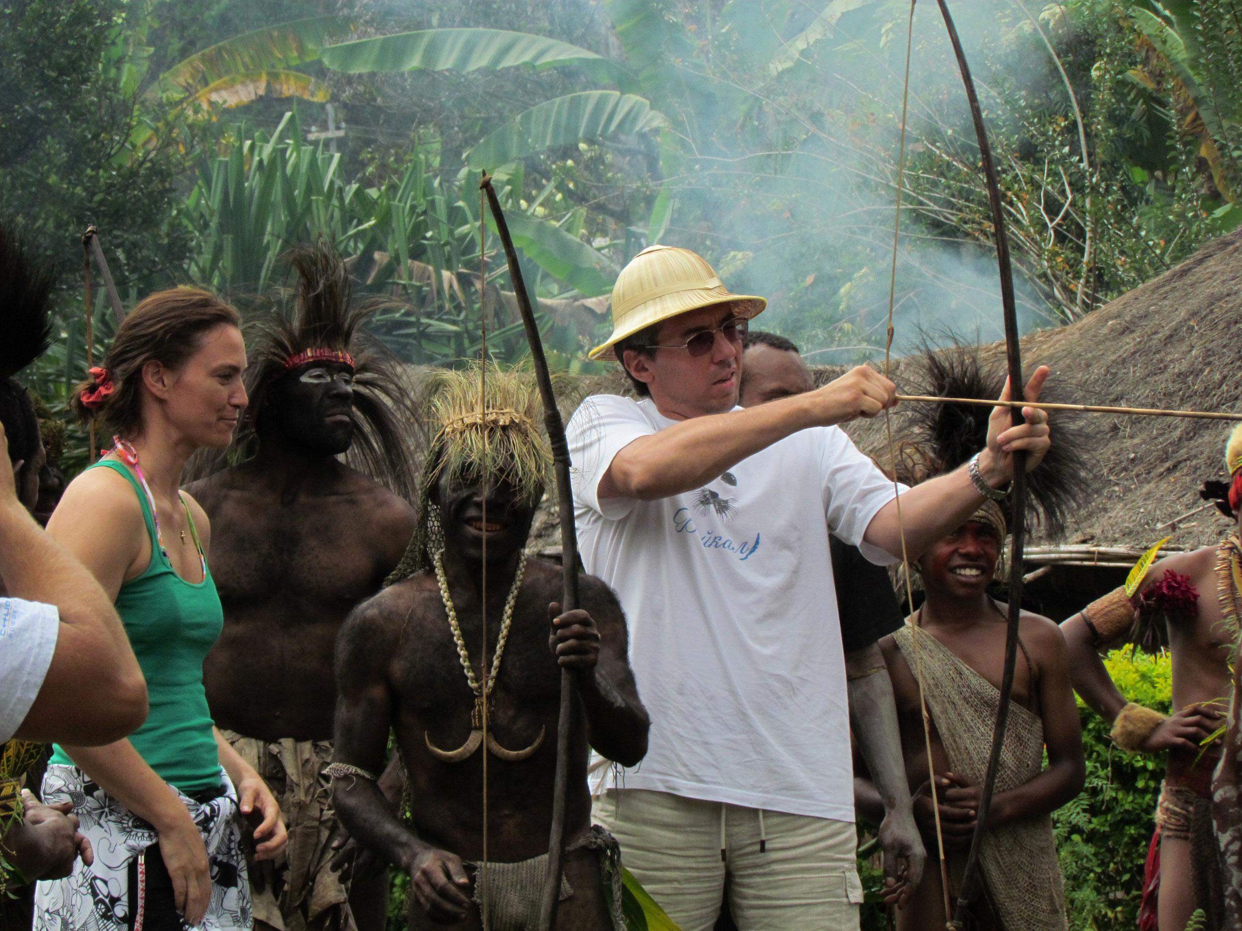 Papua New Guinea arrow-shooting-asaro