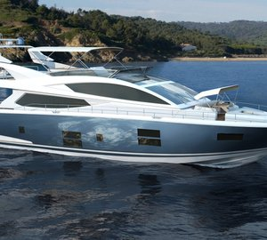 Pearl Motor Yachts and Kelly Hoppen MBE collaborate on Pearl 75 motor yacht