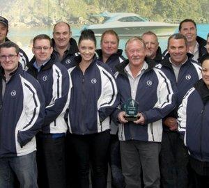 R Marine New Zealand receive Riviera's Dealership of the Year award