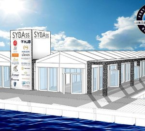 SYBAss' Pavilion rendering for the 2011 Fort Lauderdale International Boat Show
