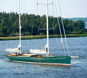 Sailing yacht Hetairos (ex project Panamax) sets Sail