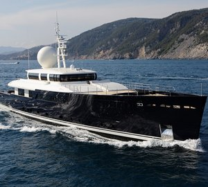 Recently launched Picchiotti Vitruvius 55 motor yacht Galileo G by Perini Navi Group at Sea Trials