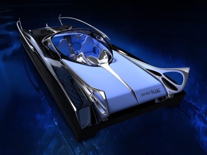 Thierry Mugler Studio designs new Spire Boat