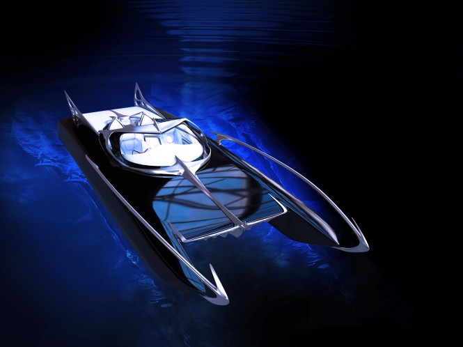 Thierry Mugler Studio redesigns Spire Boat