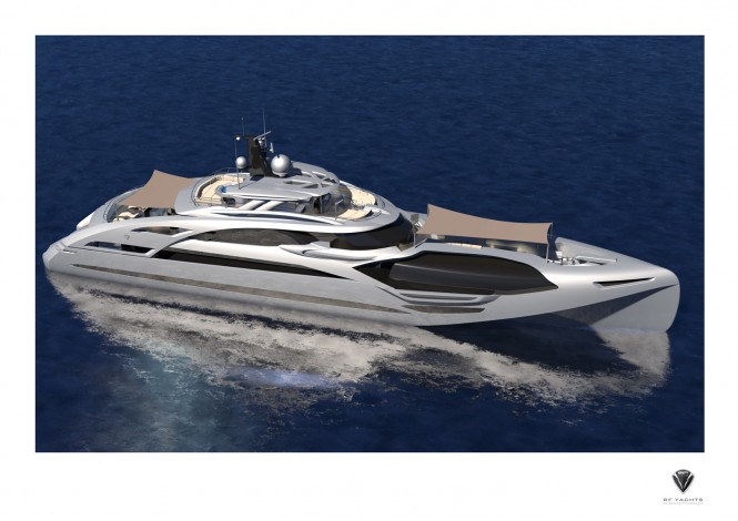 50m Motor Yacht Proxima designed by Roland Friedberger of RF Yachts
