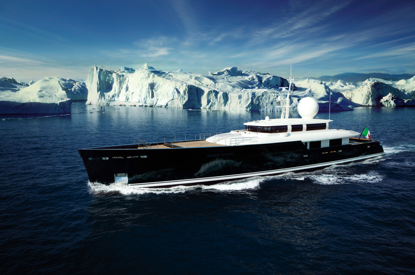 55m Galileo G Superyacht to be presented at the Monaco Yacht Show 2011 by Perini Navi Group