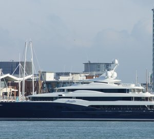 78m motor yacht Amaryllis launched by Abeking & Rasmussen