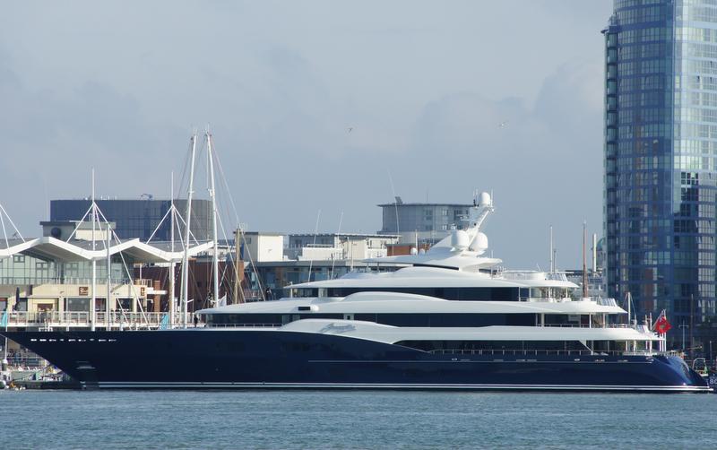 78m Motor Yacht Amaryllis Launched By Abeking Rasmussen Yacht