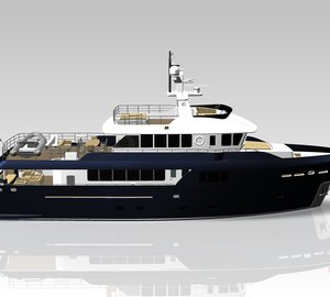 Cantiere delle Marche signs contract for the Darwin Class explorer yacht Darwin 95' by Hydro Tec