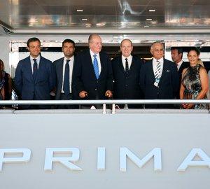 Environmentally friendly Columbus 177' motor yacht Prima awarded RINA Green Star Plus