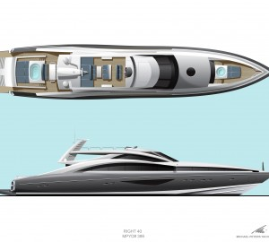 Hodgdon 40M Yacht concept by Michael Peters Yacht Design unveiled at the MYS 2011