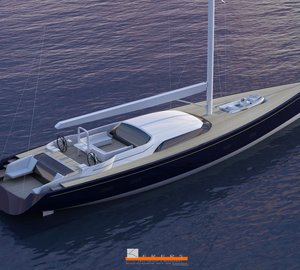30m Jongert 3000 M sailing yacht by Frers Naval Architects
