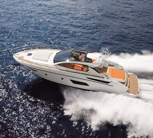 Motor Yacht Atlantis 48 turns heads at the Bank of Valletta Malta Boatshow 2011