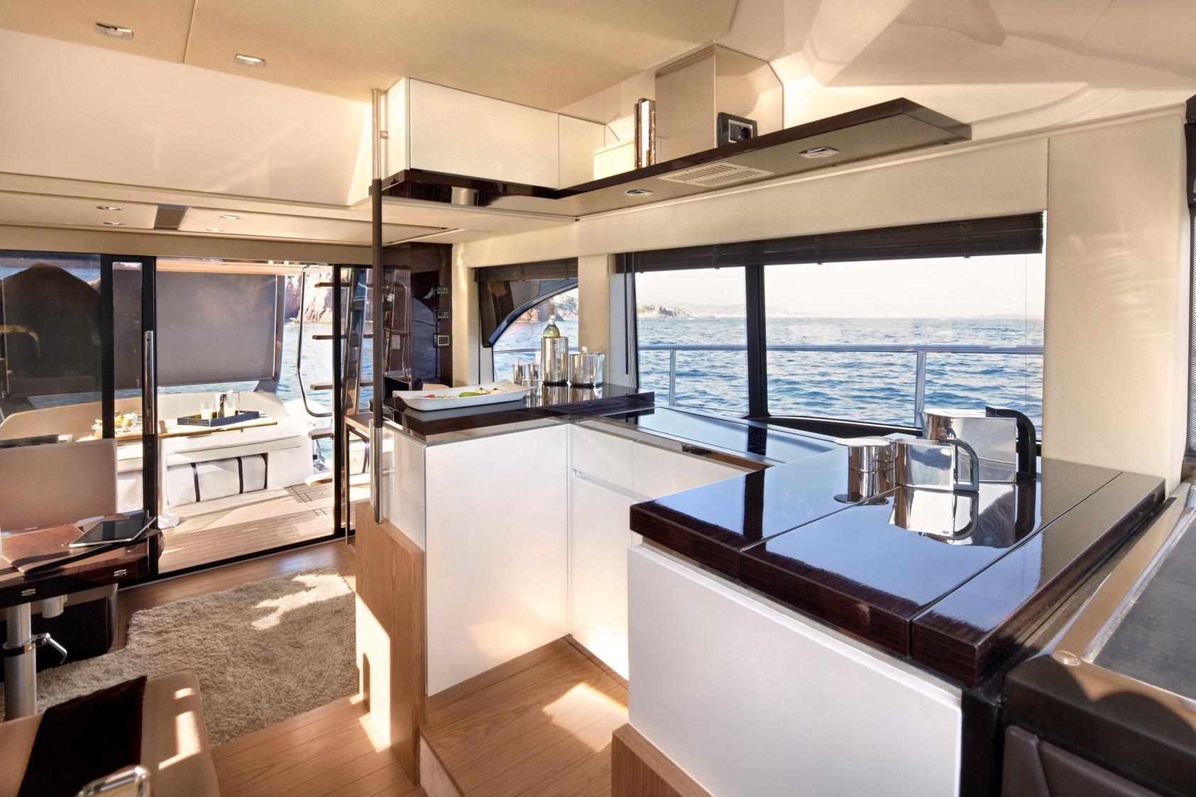 Incroyable Motor Yacht FLY 45 By Sessa Marine U2013 Interior