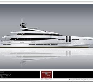 53m Motor Yacht KETOS by Team For Design - by Enrico Gobbi for Rossinavi
