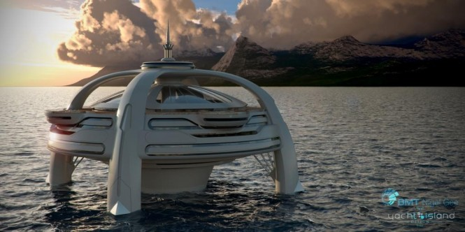 Project Utopia presented by BMT Nigel Gee and Yacht Island Design