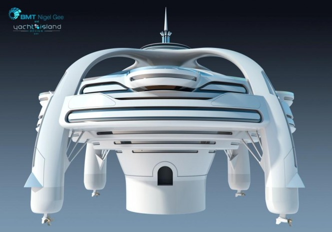 Project Utopia by BMT Nigel Gee and Yacht Island Design