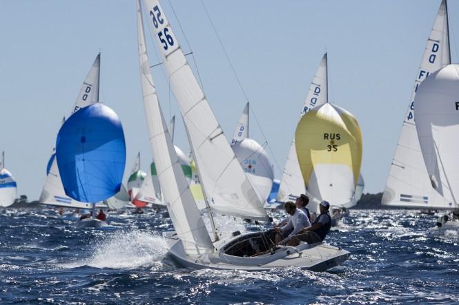 Régates Royales – Trophée Panerai 2011 Italy's Giuseppe Duca wins in the Dragon class - Photo Alexis Courcoux