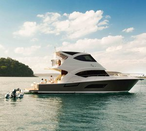Riviera's latest motor yacht models at the 2011 Fort Lauderdale International Boat Show