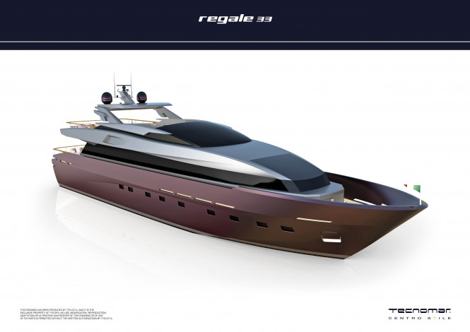 Sales contract for REGALE 33 Motor yacht by Tecnomar