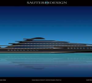 Sauter Carbon Offset Design lowers fuel consumption in superyacht by 50% without any extra costs