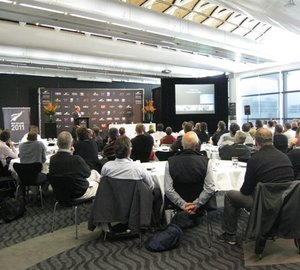 Superyacht Australia's strong presence at the NZ Marine Superyacht Captains Forum, Auckland